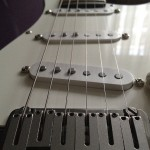 Guitarra N.Zaganin - corpo Fender (mod. Jeff Beck)